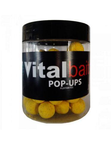 Boilies Flotantes Vial Baits Piña N-Butyric 20mm