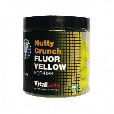 Boilie Vital Baits Nutty Crunch Amar. Fluo 14mm