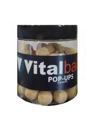 Boilies Flotantes Vital Baits Nutty Crunch 14mm