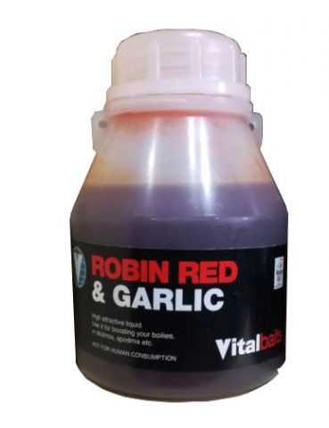 Remojo Vital Baits Robin Red & Garlic 250ml