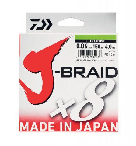 Hilo Trenzado Daiwa J X8 0.22mm 300m