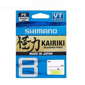 Hilo Trenzado Shimano Kairiki 0.250mm, 150m