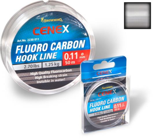 Fluorocarbono Browning Cenex 0.13mm 50m