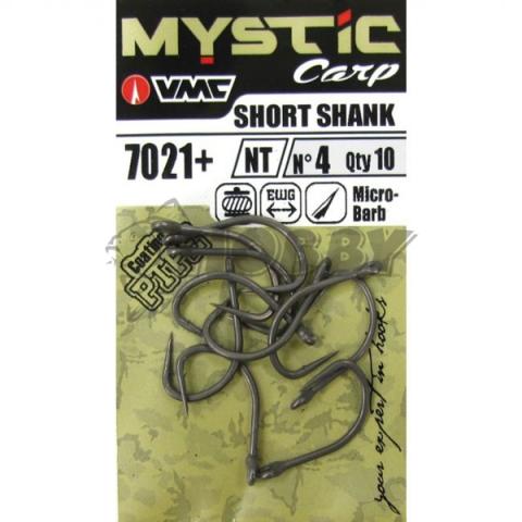 Anzuelos VMC Mystic 7021 Short Shank nº4