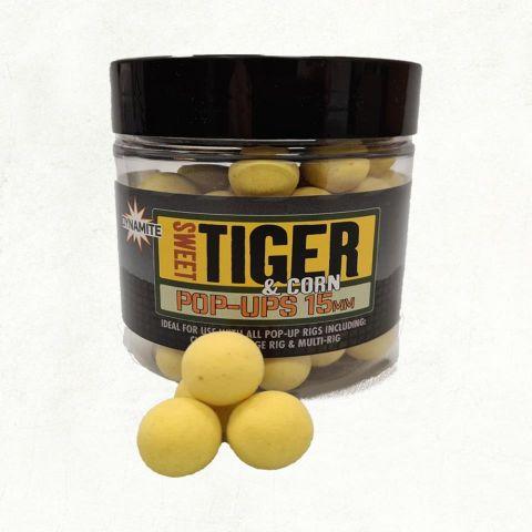 Boilies Flotantes Dynamite Sweet Tiger Corn 15mm