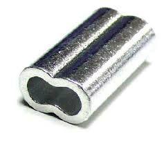 Tubitos Titan Aluminio Doble 2.50mm