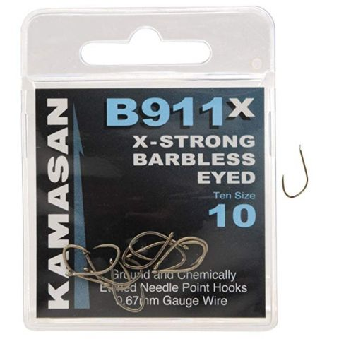Anzuelos Kamasan B-911X Strong Ojal nº18