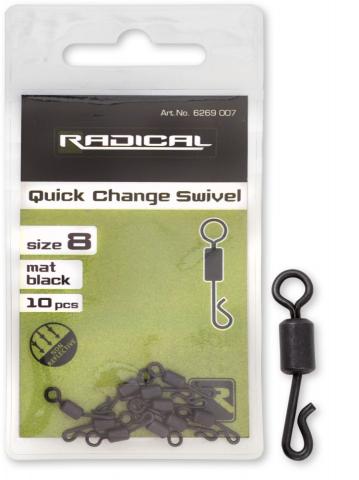 Emerillon Rolling Rapido Radical nº8 Negro Mate