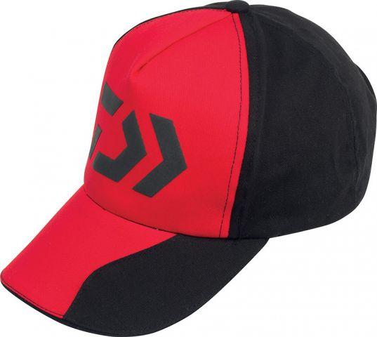 Gorra Daiwa Negra y Roja