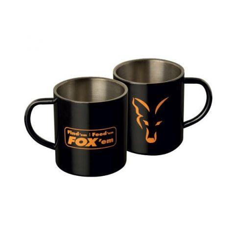 Taza de Acero Inox. Fox 400ml.