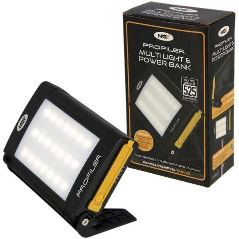 Linterna NGT con 21 LED Recargable