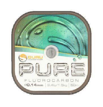 Guru Pure Fluorocarbono 50m 0.14mm
