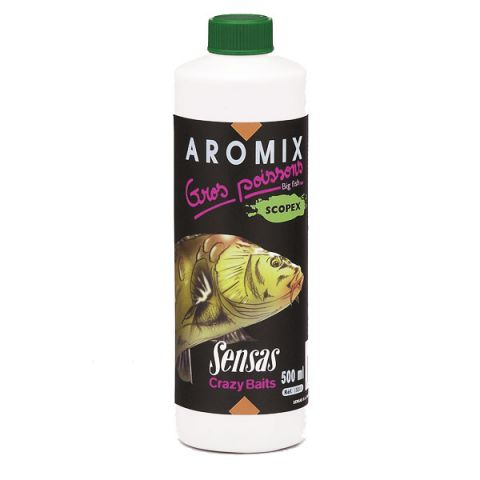 Aromix  Sensas Grandes Peces Scopex 500ml